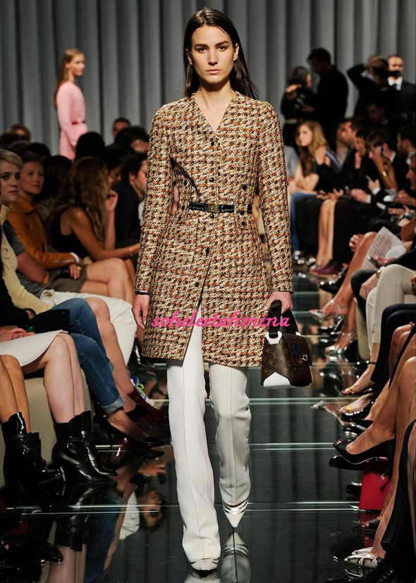 Look 31- Louis Vuitton Cruise 2015 Collection- Sohelee