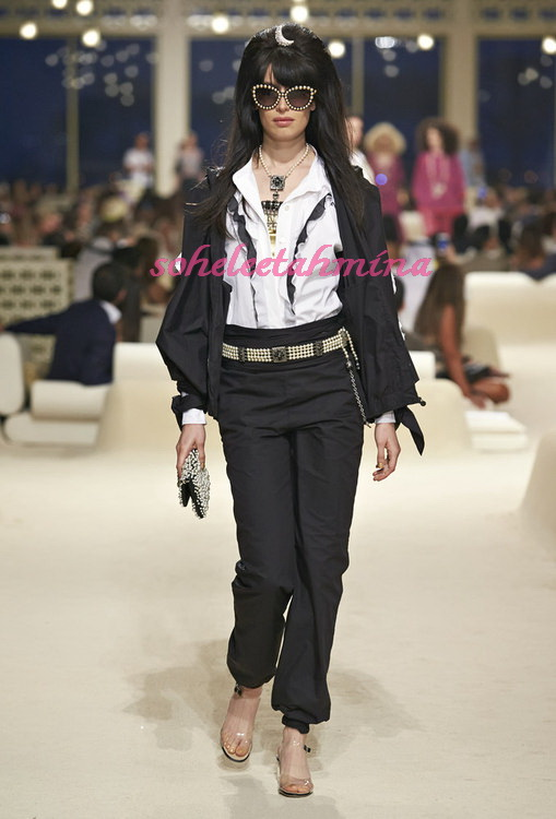 Look 32- Chanel Cruise Collection 2014-15- Sohelee