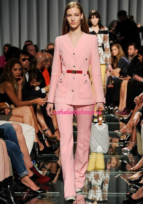 Look 32- Louis Vuitton Cruise 2015 Collection- Sohelee