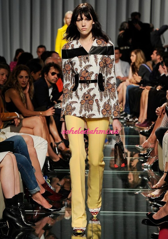 Look 33- Louis Vuitton Cruise 2015 Collection- Sohelee