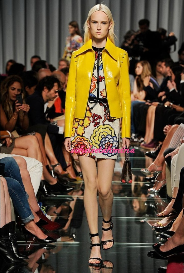 Look 34- Louis Vuitton Cruise 2015 Collection- Sohelee