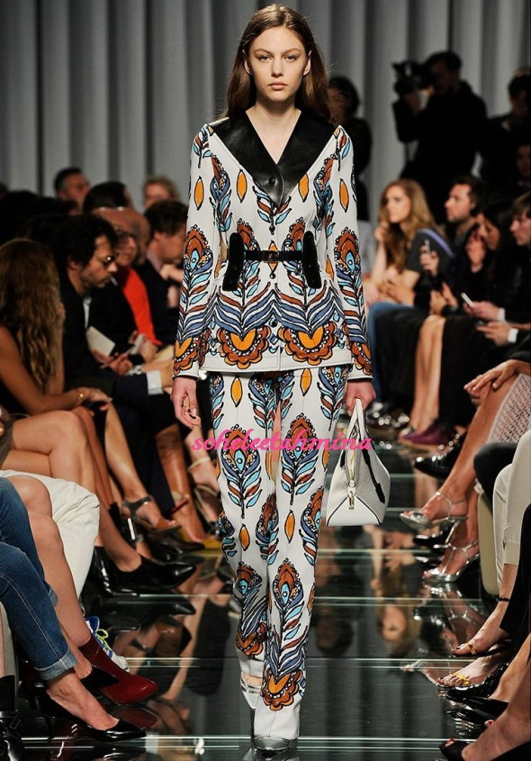Look 36- Louis Vuitton Cruise 2015 Collection- Sohelee
