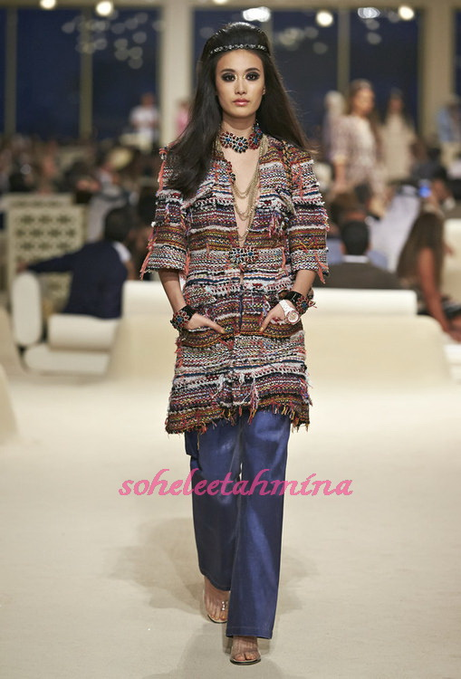 Look 37- Chanel Cruise Collection 2014-15- Sohelee