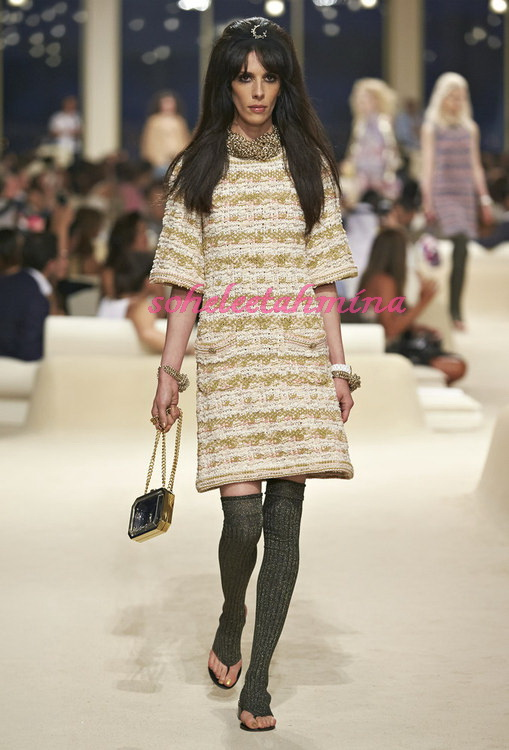 Look 39- Chanel Cruise Collection 2014-15- Sohelee