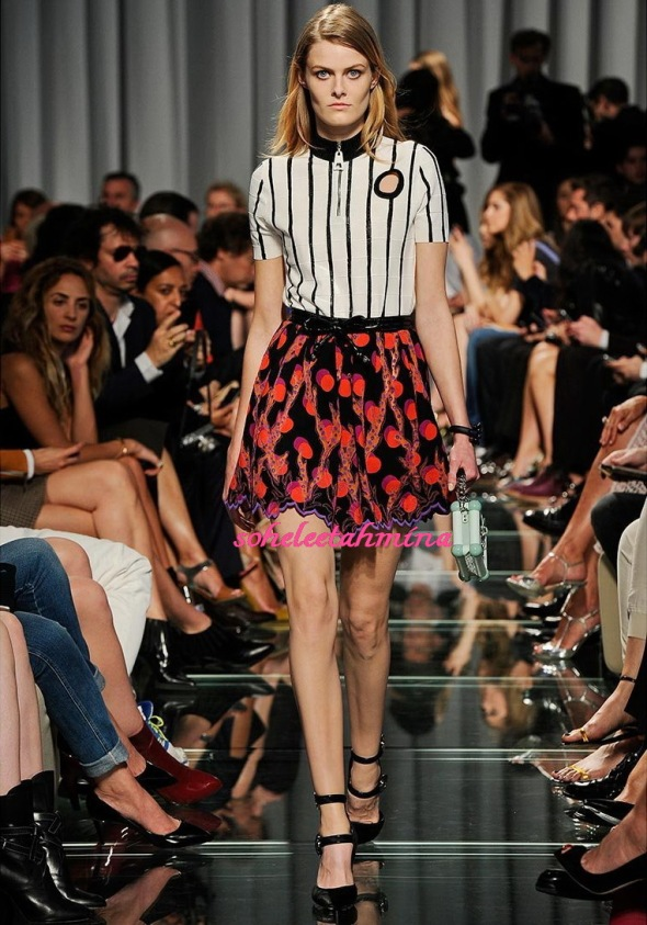 Look 39- Louis Vuitton Cruise 2015 Collection- Sohelee
