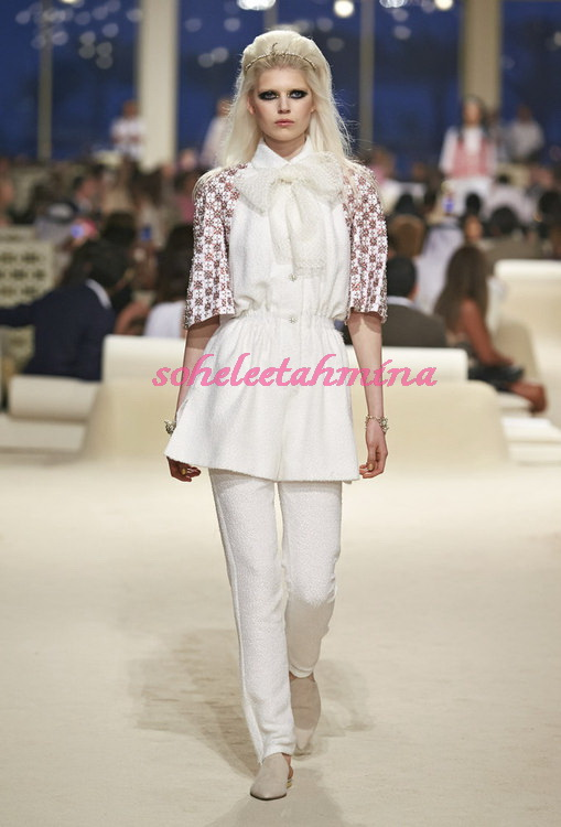 Look 4- Chanel Cruise Collection 2014-15- Sohelee