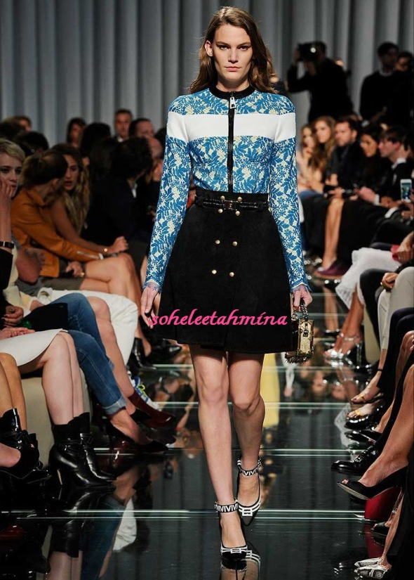 Look 4- Louis Vuitton Cruise 2015 Collection- Sohelee