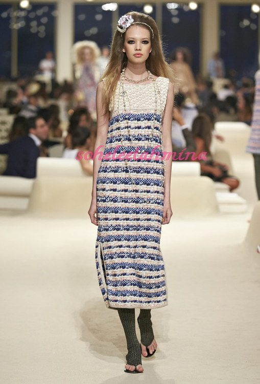 Look 40- Chanel Cruise Collection 2014-15- Sohelee