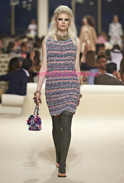 Look 41- Chanel Cruise Collection 2014-15- Sohelee