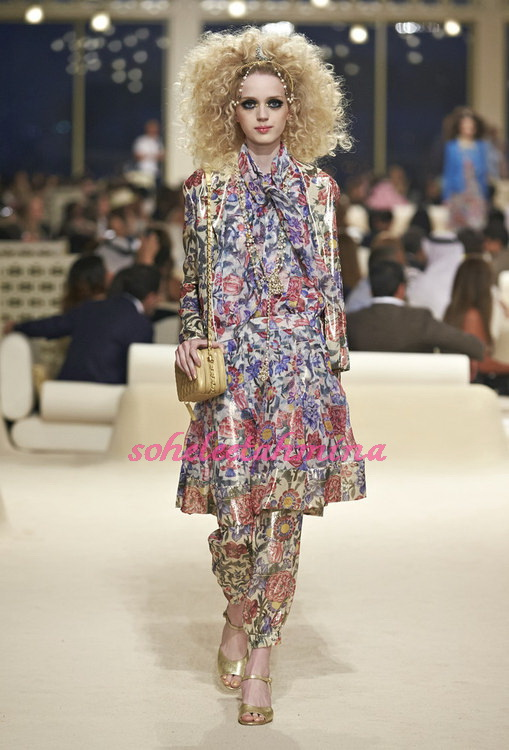 Look 42- Chanel Cruise Collection 2014-15- Sohelee