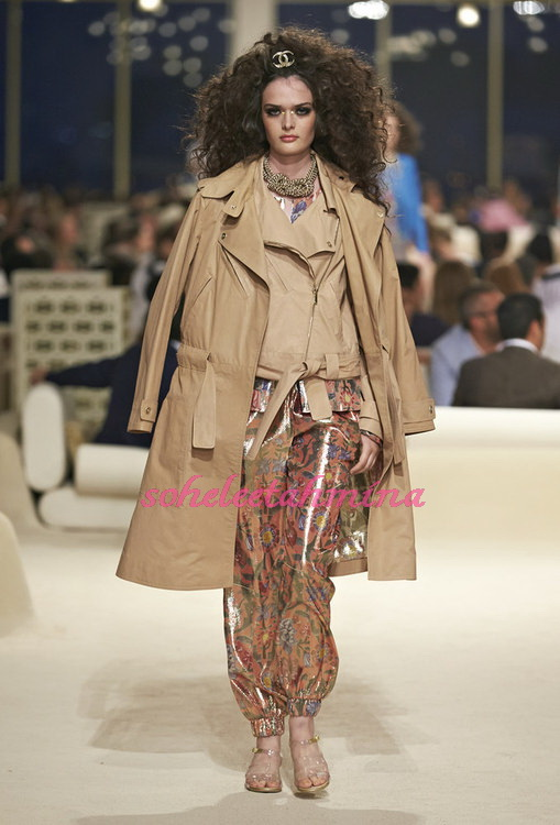 Look 43- Chanel Cruise Collection 2014-15- Sohelee