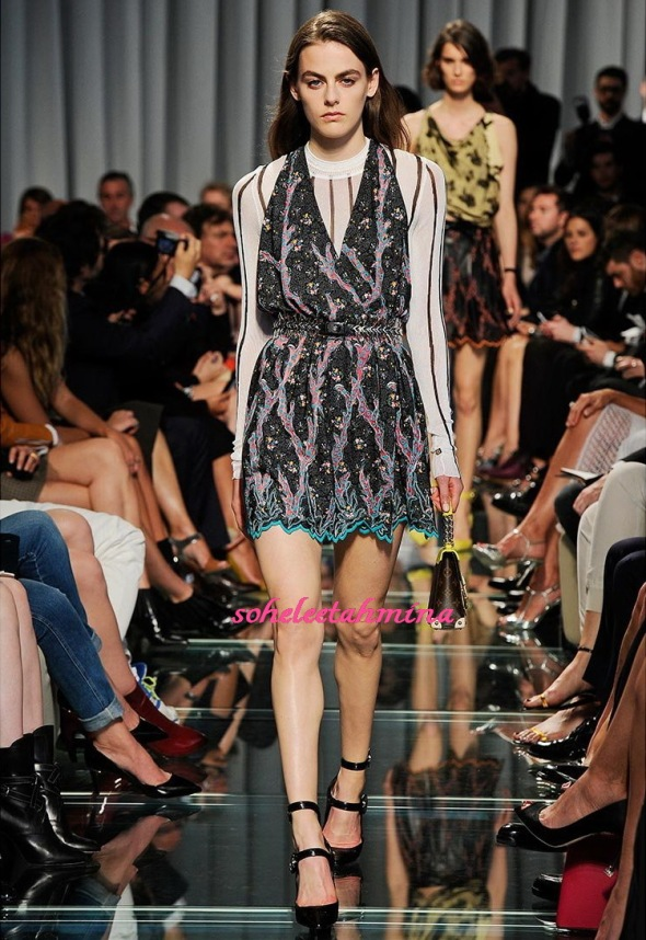 Look 43- Louis Vuitton Cruise 2015 Collection- Sohelee