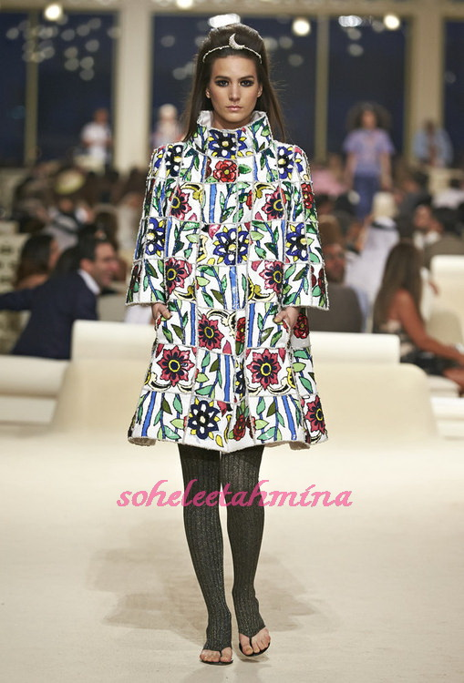 Look 44- Chanel Cruise Collection 2014-15- Sohelee