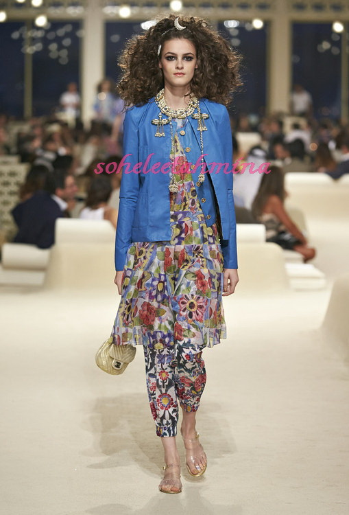 Look 45- Chanel Cruise Collection 2014-15- Sohelee