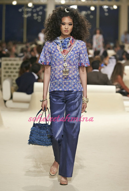 Look 47- Chanel Cruise Collection 2014-15- Sohelee