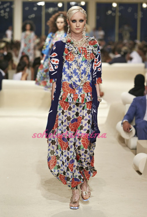 Look 48- Chanel Cruise Collection 2014-15- Sohelee