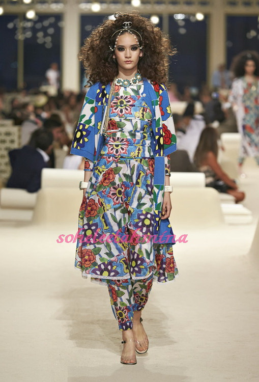 Look 49- Chanel Cruise Collection 2014-15- Sohelee