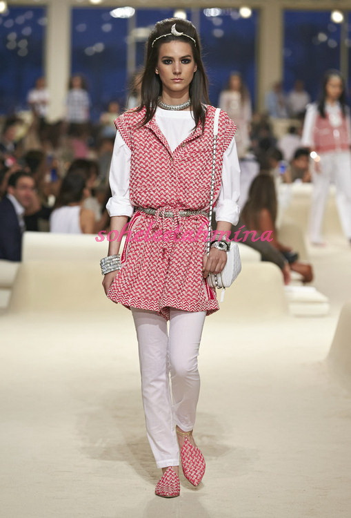 Look 5- Chanel Cruise Collection 2014-15- Sohelee