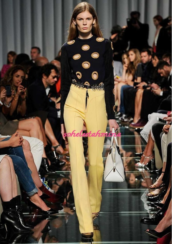 Look 5- Louis Vuitton Cruise 2015 Collection- Sohelee