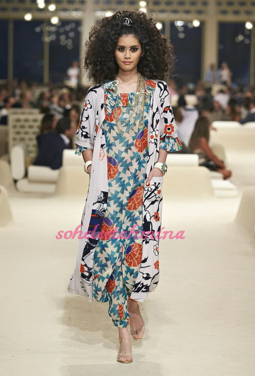 Look 50- Chanel Cruise Collection 2014-15- Sohelee