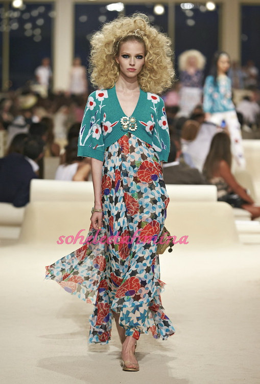 Look 51- Chanel Cruise Collection 2014-15- Sohelee
