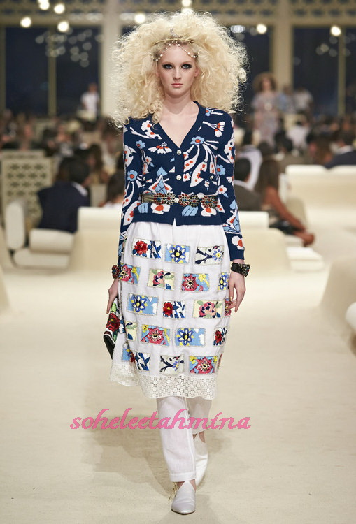 Look 53- Chanel Cruise Collection 2014-15- Sohelee