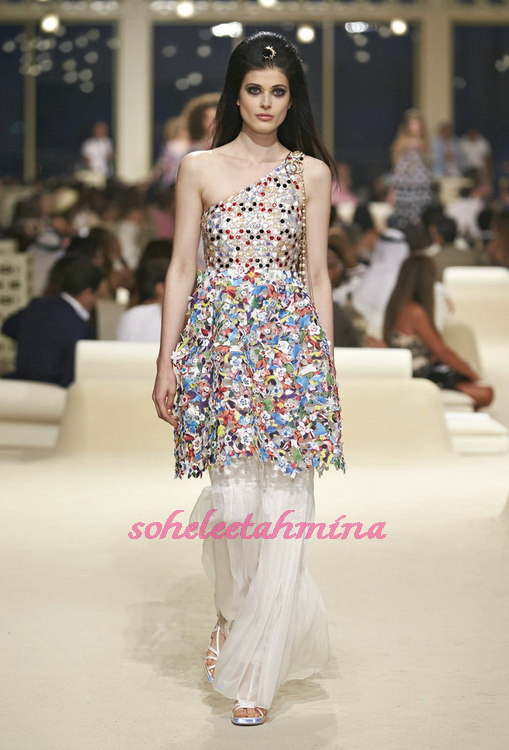 Look 54- Chanel Cruise Collection 2014-15- Sohelee