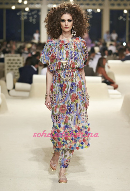 Look 55- Chanel Cruise Collection 2014-15- Sohelee