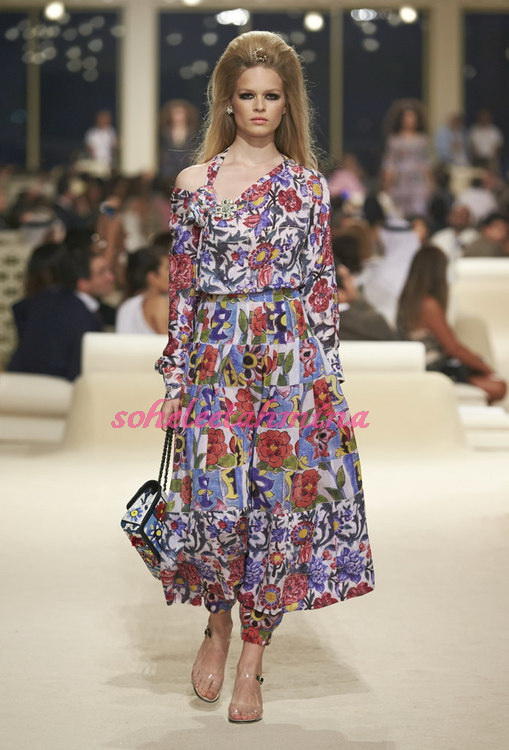 Look 56- Chanel Cruise Collection 2014-15- Sohelee