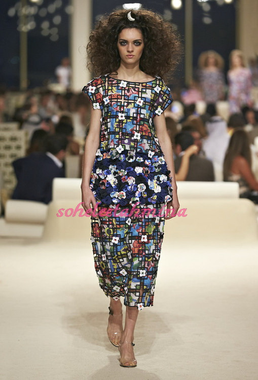 Look 57- Chanel Cruise Collection 2014-15- Sohelee