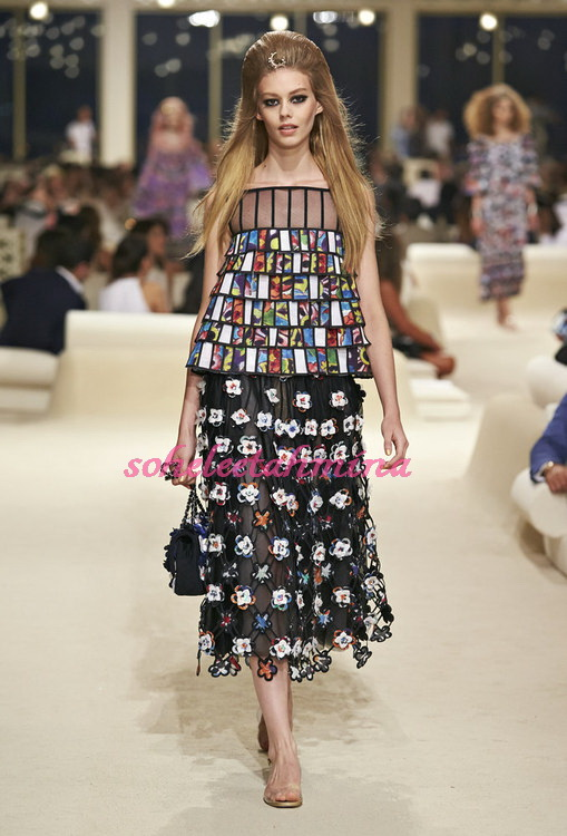 Look 58- Chanel Cruise Collection 2014-15- Sohelee
