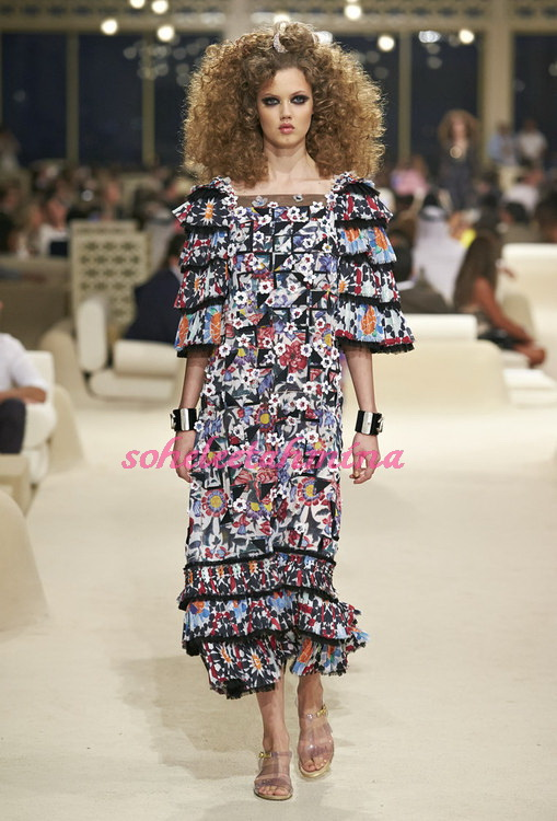 Look 59- Chanel Cruise Collection 2014-15- Sohelee
