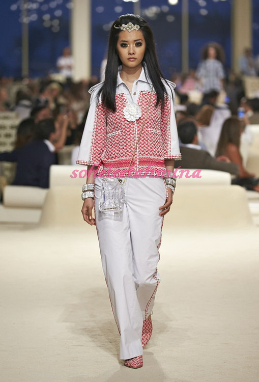 Look 6- Chanel Cruise Collection 2014-15- Sohelee