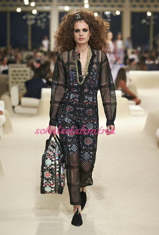 Look 61- Chanel Cruise Collection 2014-15- Sohelee
