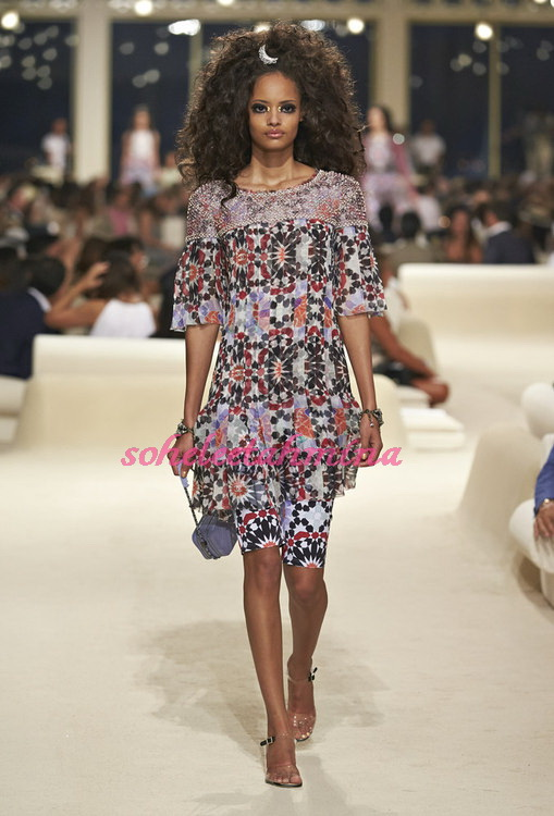 Look 62- Chanel Cruise Collection 2014-15- Sohelee