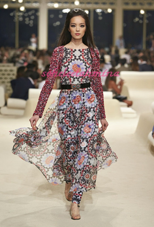 Look 63- Chanel Cruise Collection 2014-15- Sohelee