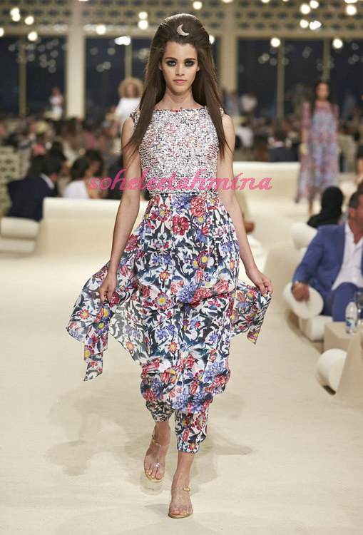 Look 64- Chanel Cruise Collection 2014-15- Sohelee