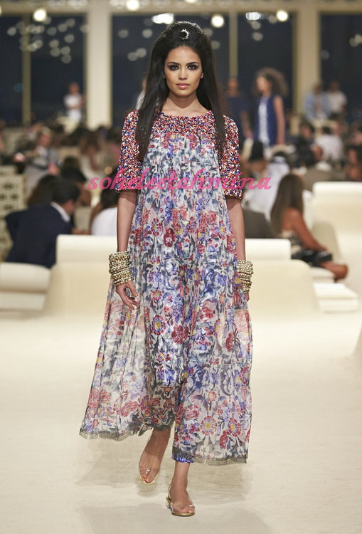 Look 65- Chanel Cruise Collection 2014-15- Sohelee