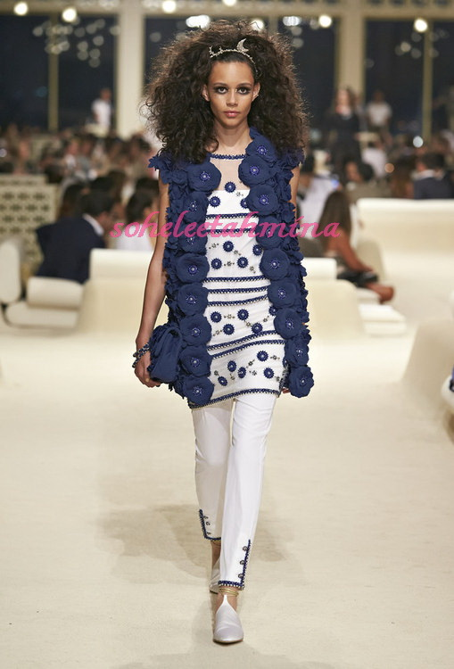 Look 67- Chanel Cruise Collection 2014-15- Sohelee
