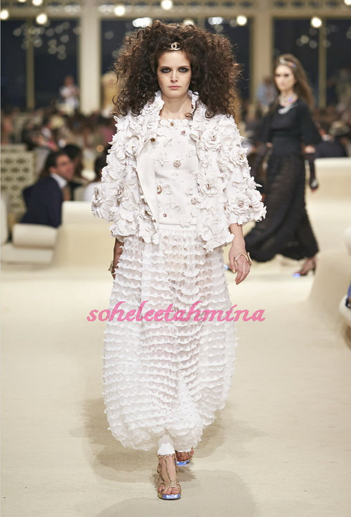 Look 69- Chanel Cruise Collection 2014-15- Sohelee