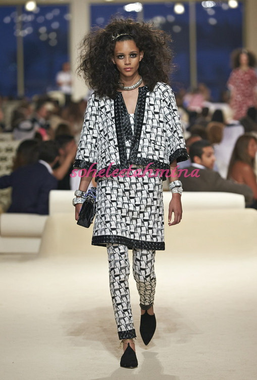 Look 7- Chanel Cruise Collection 2014-15- Sohelee