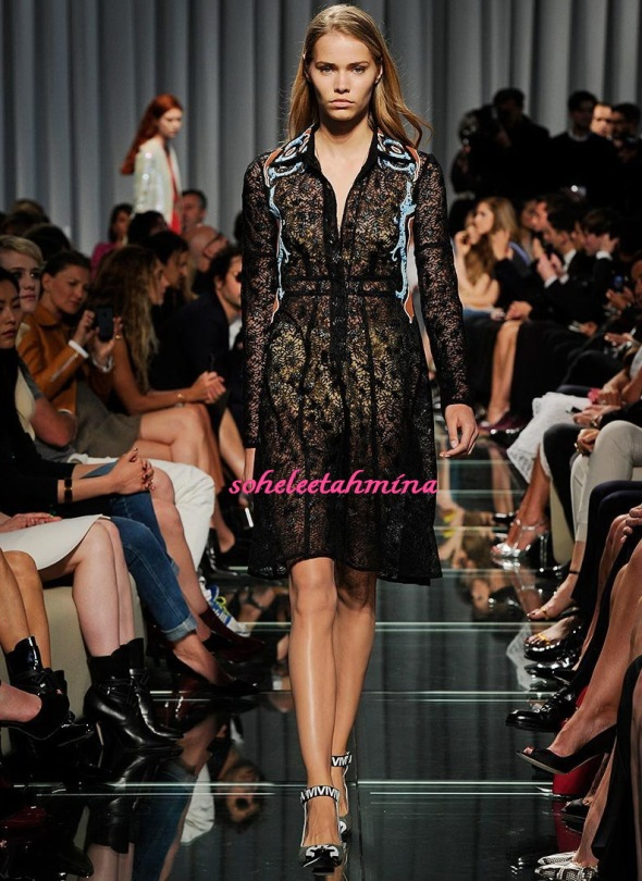 Look 7- Louis Vuitton Cruise 2015 Collection- Sohelee