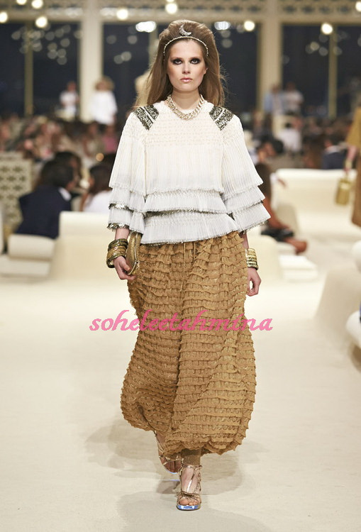 Look 71- Chanel Cruise Collection 2014-15- Sohelee