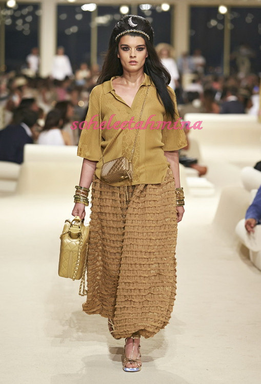 Look 72- Chanel Cruise Collection 2014-15- Sohelee
