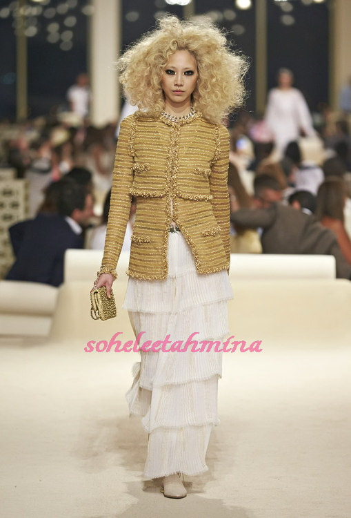 Look 73- Chanel Cruise Collection 2014-15- Sohelee