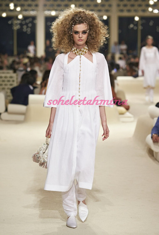 Look 74- Chanel Cruise Collection 2014-15- Sohelee