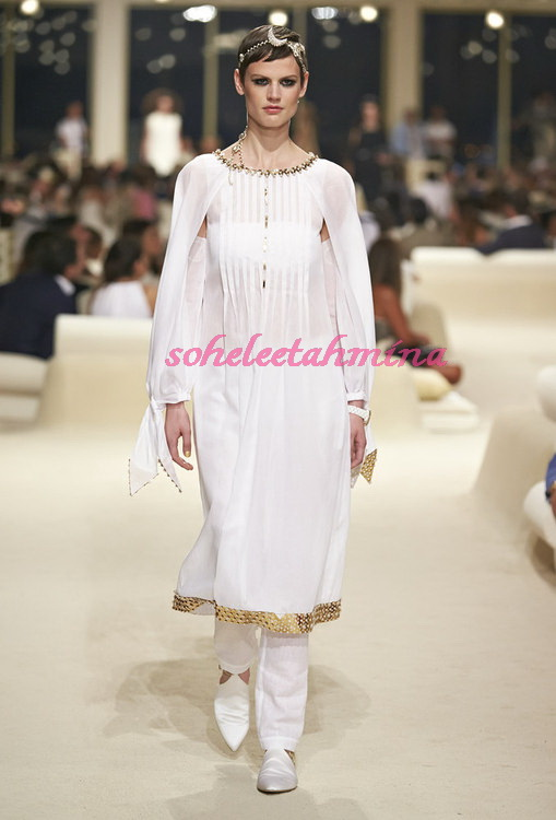 Look 75- Chanel Cruise Collection 2014-15- Sohelee