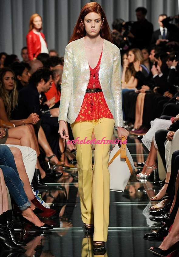Look 8- Louis Vuitton Cruise 2015 Collection- Sohelee
