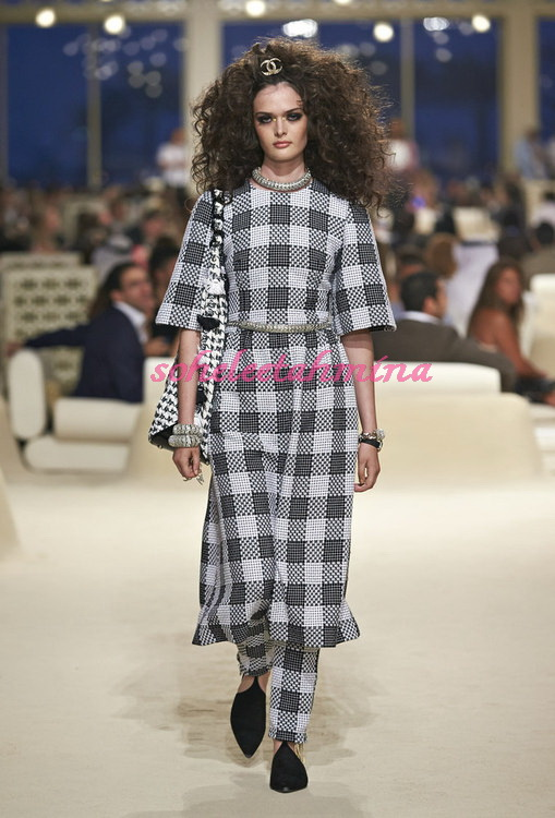 Look 9- Chanel Cruise Collection 2014-15- Sohelee