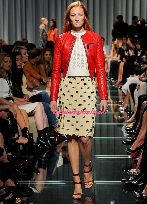 Look 9- Louis Vuitton Cruise 2015 Collection- Sohelee